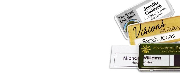 Design Name Badges Online | Metal - Aluminium - Plastic Name